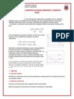 DETERMINACION DE MUESTRAS ALCALINAS CARBONATO Y CARONATO ACIDO