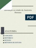 Aula 1 Introdução ao estudo da Anatomia __Humana