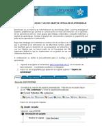 GUIA PARA LA PUBLICACION Y USO DE OBJETOS VIRTUALES DE APRENDIZAJE