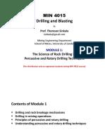 1.MIN 4015 Drilling and Blasting