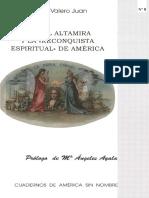 Rafael Altamira y la reconquista espiritual de América