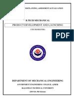 PDL Course File 2019-20 (RTU OLD)