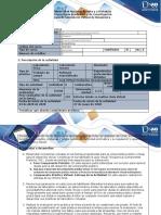 Guía y rúbrica de evaluación Tarea 4 - Componente Práctico  Virtual