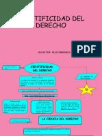 CIENTIFICIDAD DEL DERECHO