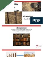 Semana 3 - Evolución Derecho y Derecho Arcaico 1