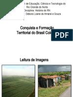Conquista e Formacao Territorial do Brasil Colonial