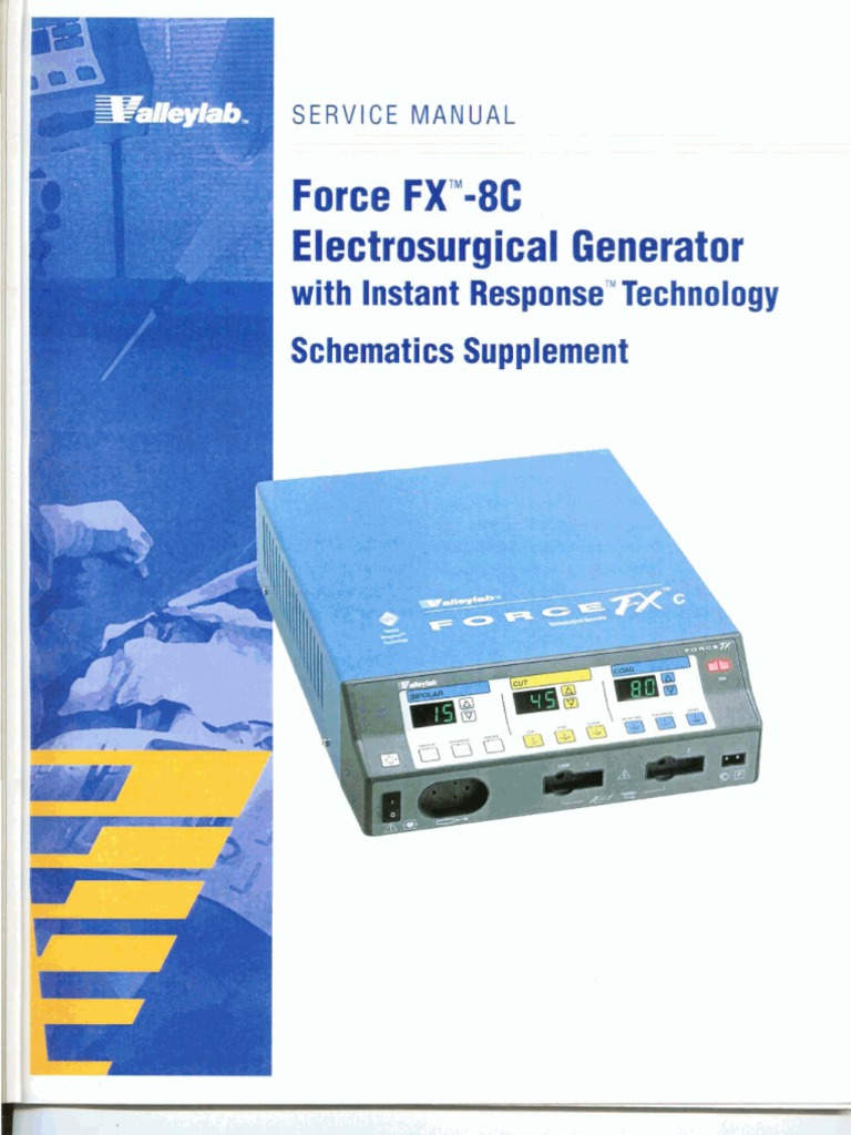 Valleylab - Force FX-C Community, Manuals and ...
