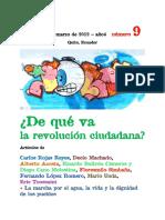Revista R_Revista de Debate Político Número 9