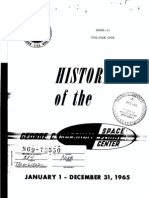History of the George C. Marshall Space Flight Center, 1 Jan. - 31 Dec. 1965, Volume 1