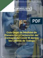 Guia Legal de Medidas de Prevención y Contención Del Contagio Del Covid 19 Dentro Los Centros de Trabajo Bolivia
