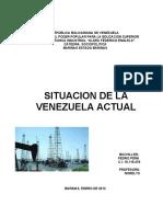 SITUACION DE VENEZUELA