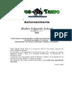 Eckart, Walter E. - Autoconciencia
