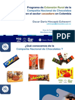 Extensión rural Compañía Nacional de Chocolates. 14-mayo-2020
