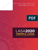 Lasa 2020 Program Final