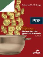 Gestao Da Gastronomia - Livro Completo