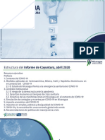 FUNIDES Presentación de Coyuntura de Nicaragua. Mayo 2020