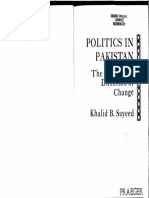 K.B. Sayeed - Politics in Pak - The Nature & Direction of Change.pdf