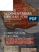 ROCAS SEDIMENTARIAS SILICEAS (CHERT)