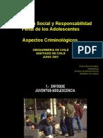 criminologia y adolescencia GENDARMARIA SANTIAGO JUNIO 2007