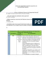 Aportes al Sistema de seguridad social de acuerdo a la normatividad vigente act 2