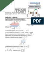 Teoria y práctica dirigida de Capacitancia y dielectricos