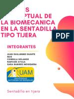 ANÁLISIS CONCEPTUAL DE LA BIOMECANICA EN LA SENTADILLA TIPO TIJERA