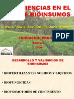 BIOINSUMOS-Experim