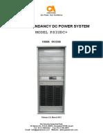 Power System 1U DC+