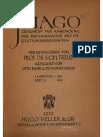 Revista Imago de 1912 edición 1 Vol. 2