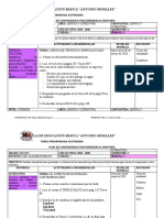 PLANIFICACIÓN EDUCATIVA POR EMERGENCIA SANITARIA POR COVID-19