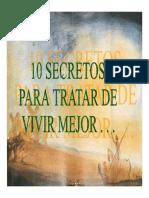 10 Secretos para tratar de vivir mejor
