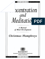 (Element classic edition.) Christmas Humphreys - Concentration and Meditation_ A Manual of Mind Development (Element Classic Editions)-Element (1994).pdf