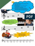 LECCIÓN N° 4 - LAS NOTAS MUSICALES EN EL PENTAGRAMA (1)