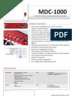 MDC 1000 Brochure