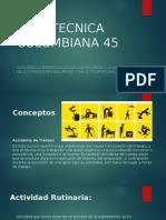 GUIA TECNICA COLOMBIANA 45. Conceptos