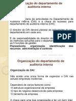 Organização do departament de auditoria interna[1]