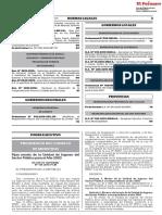 D.S. 149-2019-PCM, FIJAN MONTO DE UNIDAD DE INGRESO DEL SECTOR PUBLICO 2020