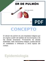 CÁNCER DE PULMÓN .pptx