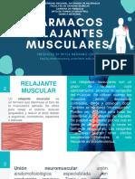 UNIDAD IV Relajantes Musculares 2020