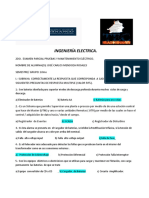 2DO. Y 3CER  EXAMEN PARCIAL PRUEBAS Y MANTENIMIENTO ELÉCTRICO.