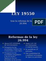 LEY 19550 y su reforma.ppt