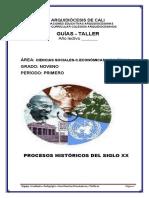 PROCESOS HISTÓRICOS DEL SIGLO XX