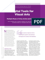 digital tools visual arts