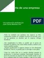 Clase 19 (1) Oferta de La Empresa
