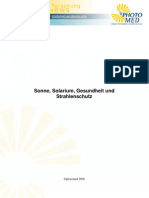 Sonne-Solarium-Gesundheit-Strahlenschutz