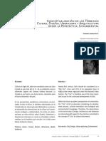 CONCEPTUALIZACIÓN DE LOS TÉRMINOS CIUDAD, DISEÑO, URBANISMO Y ARQUITECTURA DESDE LA PERSPECTIVA ECOAMBIENTAL.