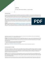 Actividad 3. Cuadro comparativo, Normas Nacionales e Internacionales