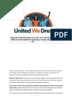 UWD - RSVP Required Join Us Senator Elizabeth Warren and Secretary Julian Castro!