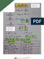 Cours - Physique - Dipole RC (Mr. GOUIDER ABDESSATAR Lycée Ibn Mandhour Metlaoui 2018-2019) - Bac Toutes Sections (2018-2019) Mr GOUIDER ABDESSATAR (1)