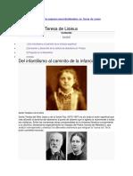 Abandono en Teresa de Lisieux